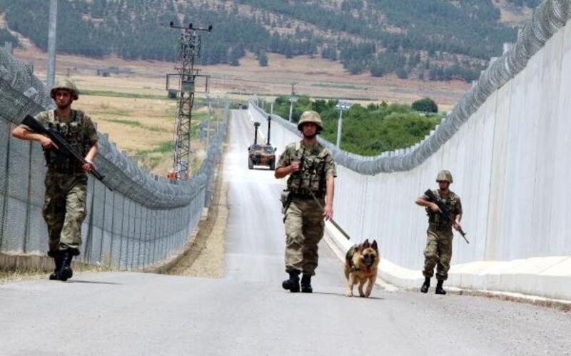 Suriye sınırı 'beton duvar' ile huzur buldu