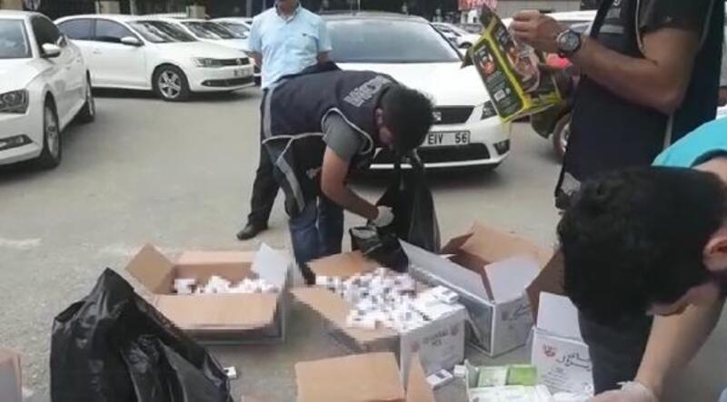 Kargo kolilerinden kaçak sigara çıktı