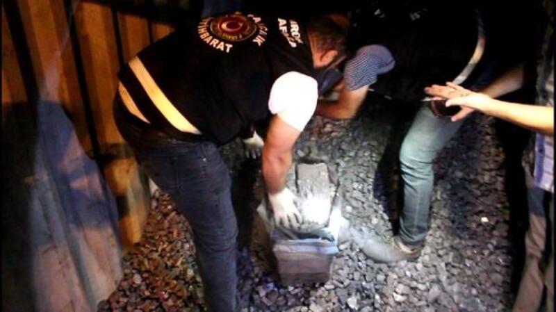 Ambarlı Limanı'nda 90 kilogram kokain ele geçirildi