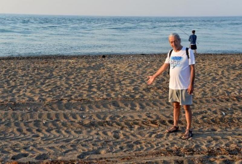 Tarla gibi sürülen caretta caretta kumsalında 50 yuva yok oldu