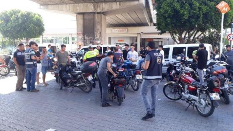 Adana'da motosiklet uygulaması