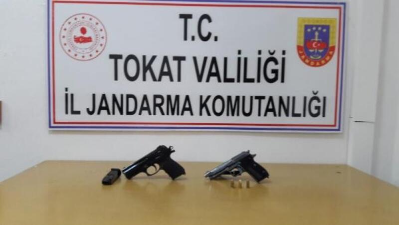 Sulusaray'da silah operasyonu