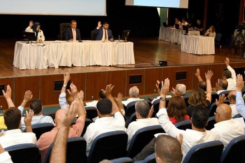 Teminat mektubu maddesi oy birliği ile kabul edildi