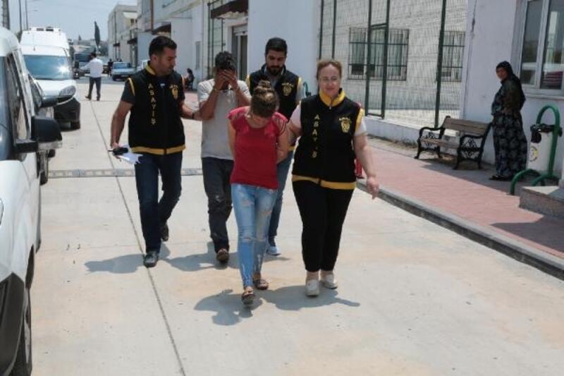 Hırsızlık şüphelisi koca tutuklandı, eşi serbest