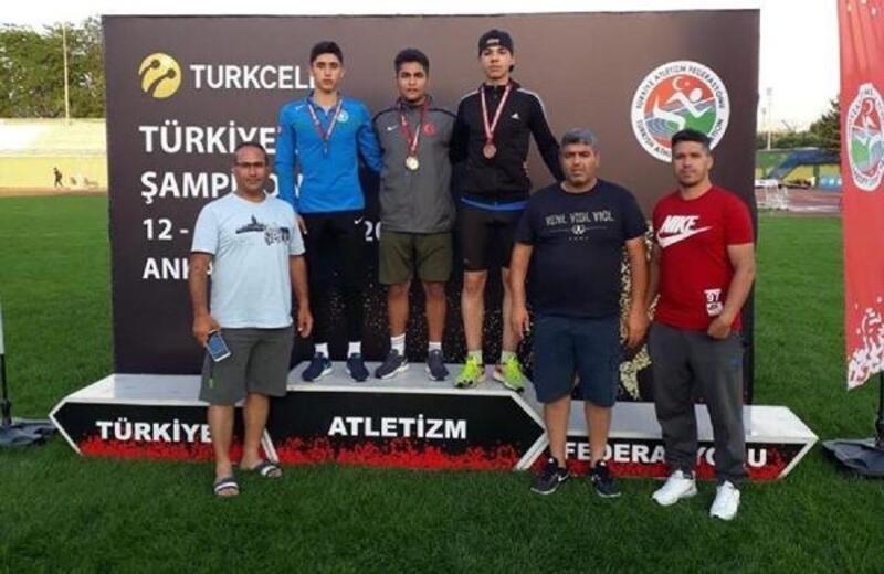 Osmaniyeli sporcu, atletizmde Türkiye'yi temsil edecek