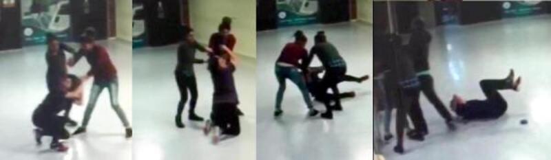 Kadın doktoru döven 2 kız kardeşe 1 yıl 10'ar ay hapis cezası