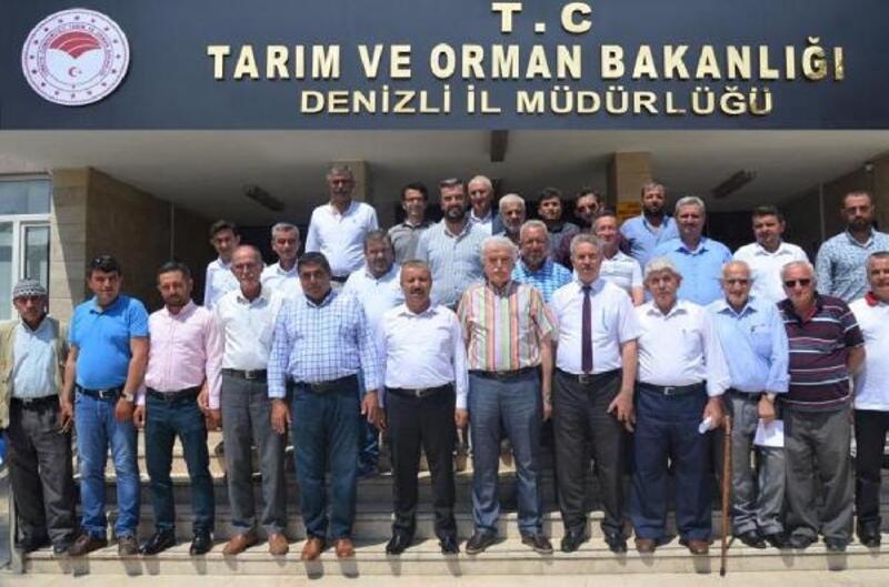 Modern sulamada 570 üreticiye toplam12 milyon lira destek