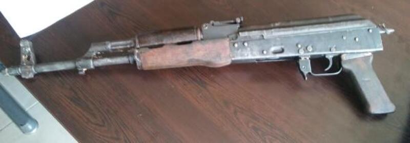 Nizip'te silah operasyonu