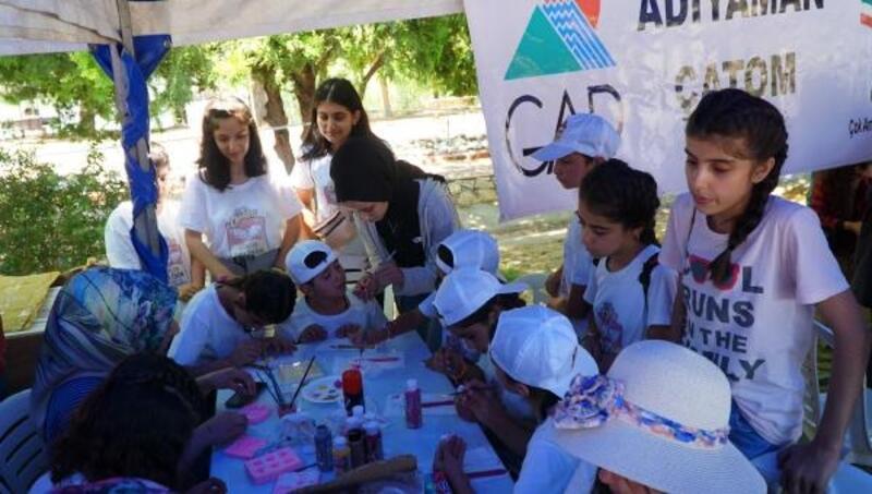 Adıyaman'da, çocuk yaz kampı düzenlendi