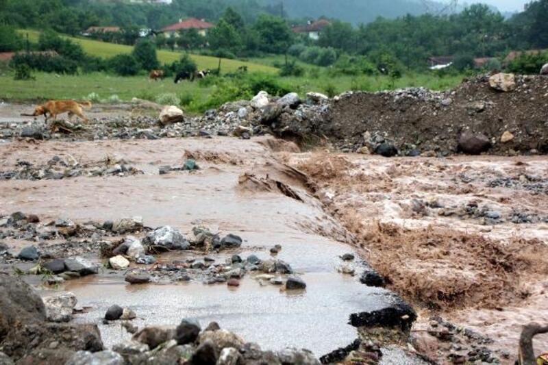 Bolu'da selin yaraları sarılıyor