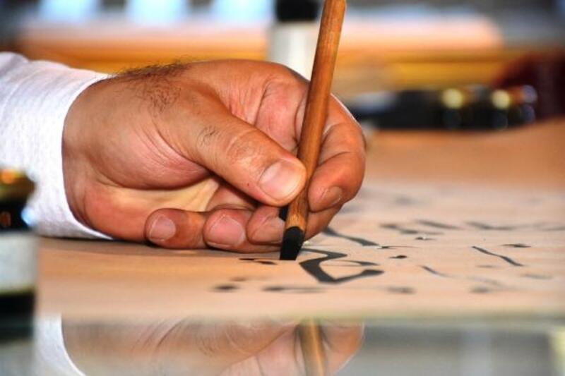 Malatya'da hat sanatı ustası 8 yılda 150 camiye motif işledi