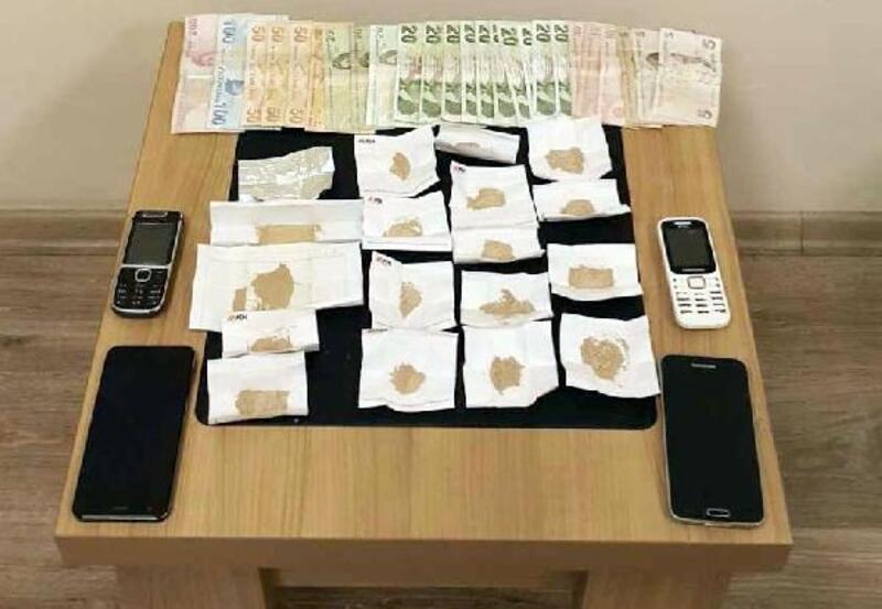 Gaziantep'te uyuşturucuya 1 tutuklama