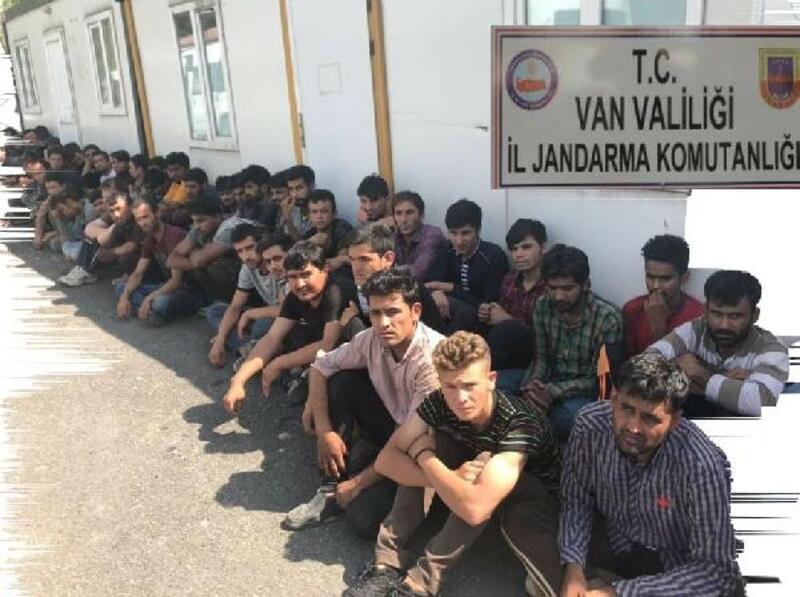 Van'da 139 kaçak yakalandı