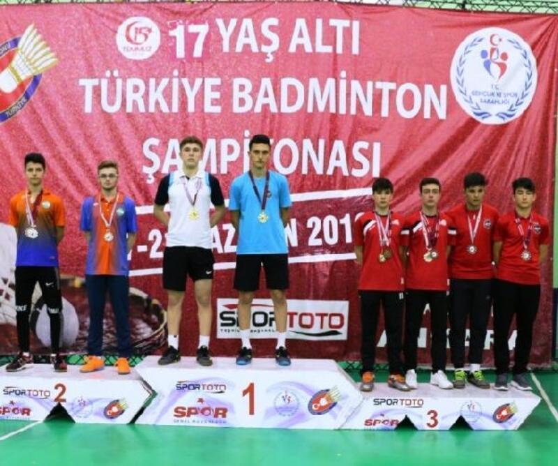 Ankara'da düzenlenen Türkiye Badminton Şampiyonası tamamlandı