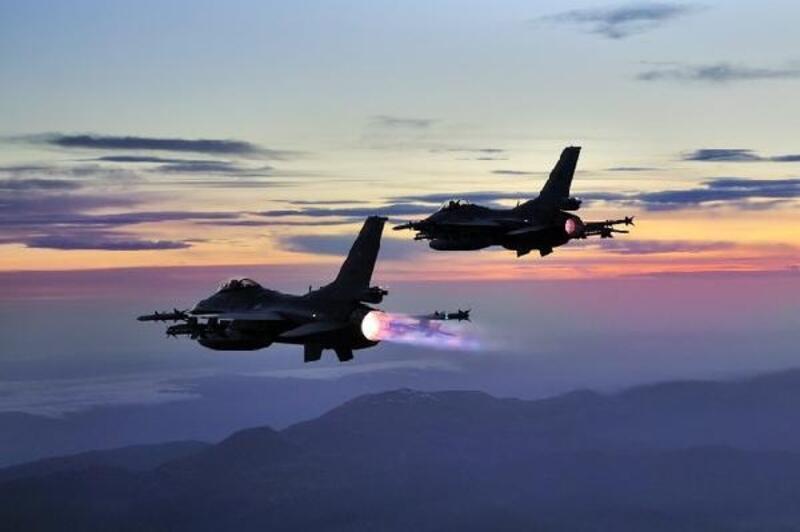 Irak'ın kuzeyinde, PKK hedefleri vuruldu