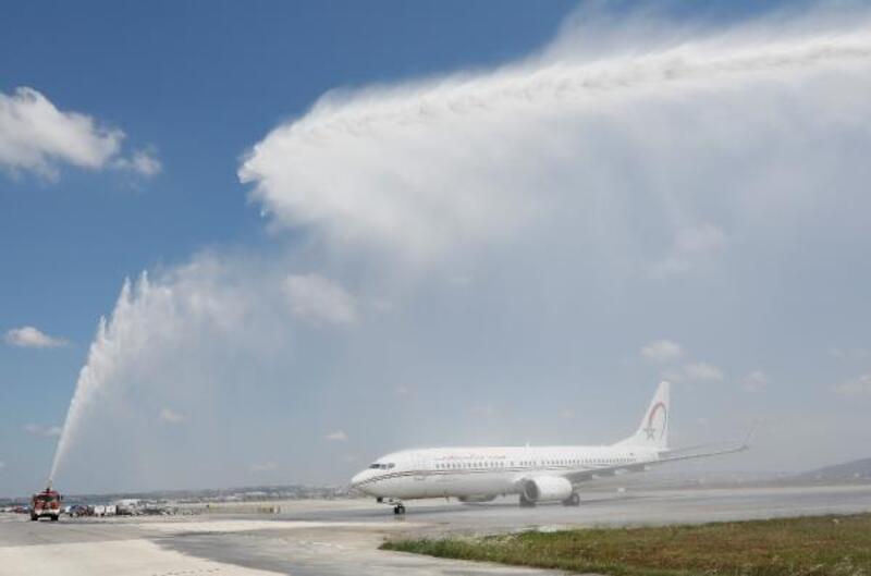 Royal Air Maroc'un Sabiha Gökçen'den Kazablanka'ya uçuşları başladı