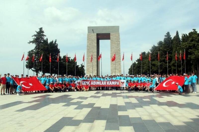 Lise öğrencileri Çanakkale'yi gezdi