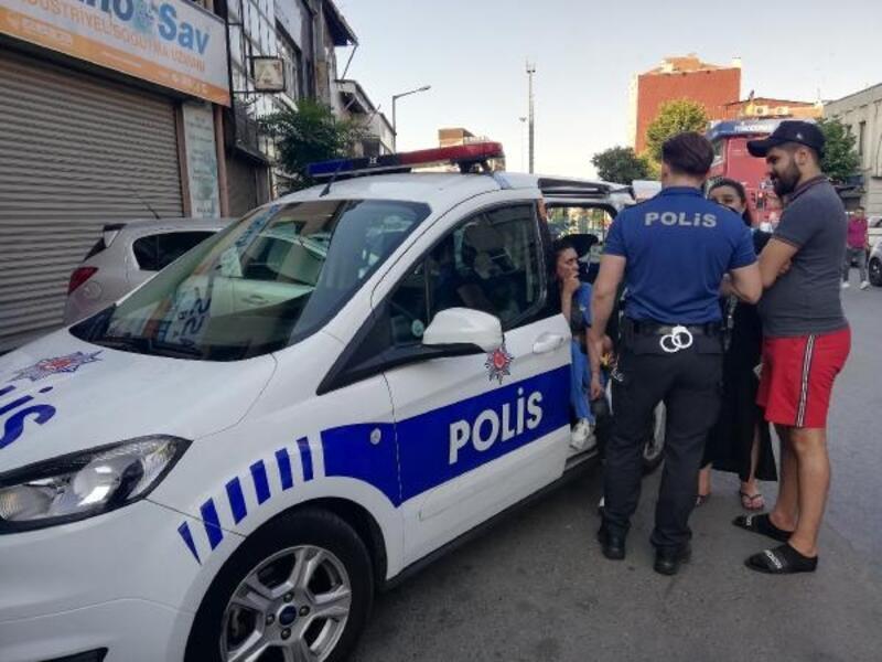 Beyoğlu'nda kapkaça direnen kadın turist metrelerce sürüklendi