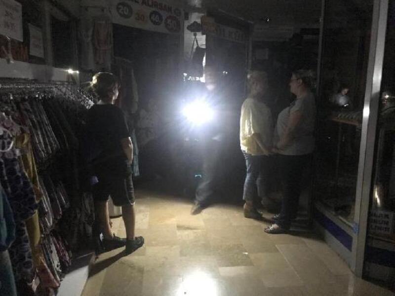 Bursa kent genelinde elektrik kesintisi