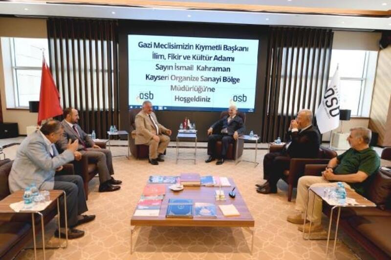 İsmail Kahraman'dan Kayseri OSB'ye ziyaret