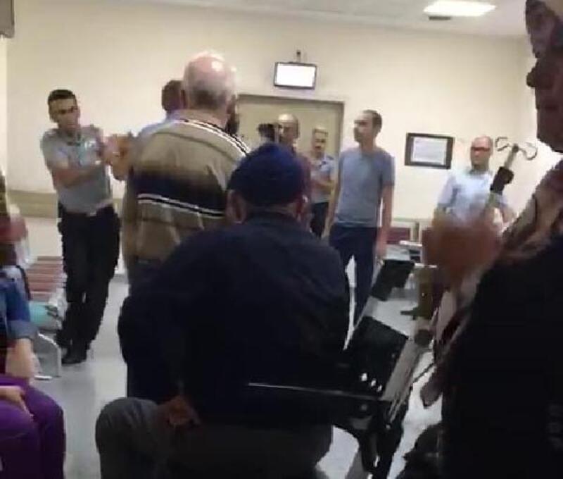 Hastanede 'muayene sırası' kavgası