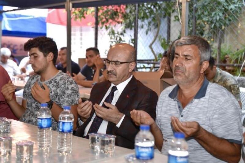 Vali Demirtaş, Şehit Kuddusi Volkan Şevik'in ailesine taziye ziyaretinde bulundu