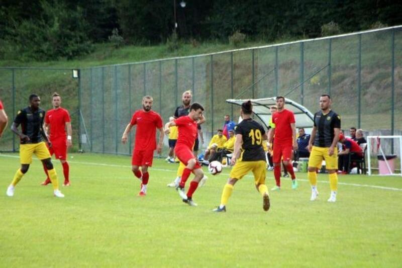 Yeni Malatyaspor, hazırlık maçında NK Çelik Zenica'yı tek golle geçti