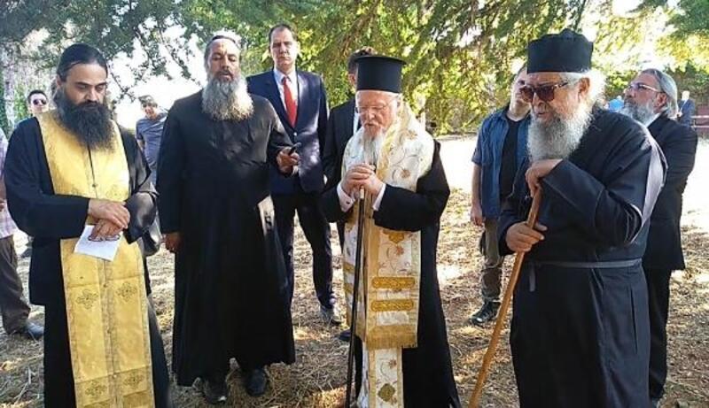 Şarköy'deki manastıra ilk kez metropolit atandı, Bartholomeos ayini yönetti