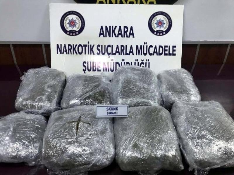 Ankara'da uyuşturucuya 24 tutuklama