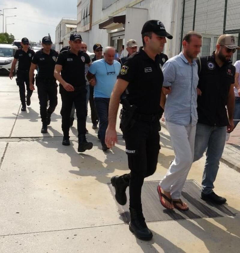 DHKP-C operasyonunda yakalanan şüpheliler mahkemeye sevk edildi