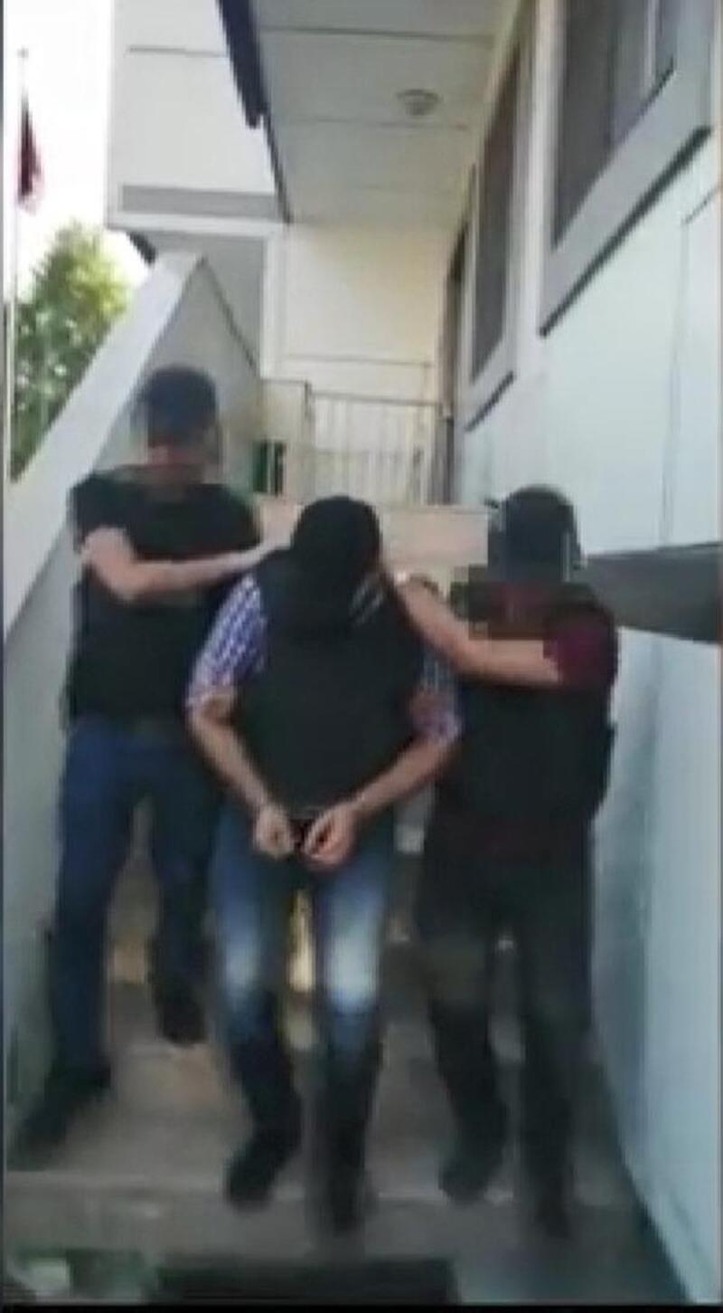 Eyüpsultan'da cam şişeyle öldürülen kişinin katil zanlısı yakalandı