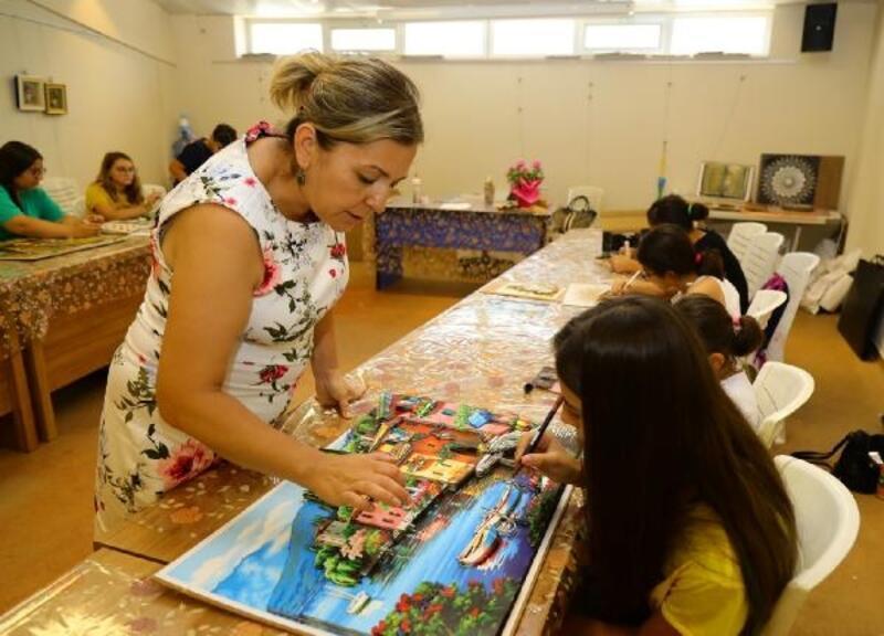 Manavgat'ta çocuklara ücretsiz kurs