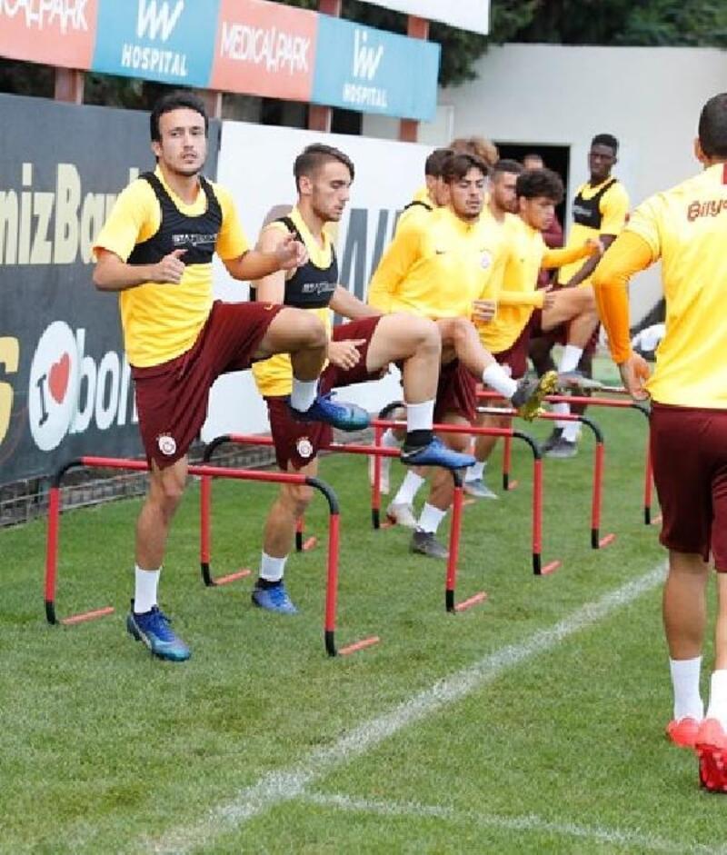 Galatasaray günü tek idmanla noktaladı