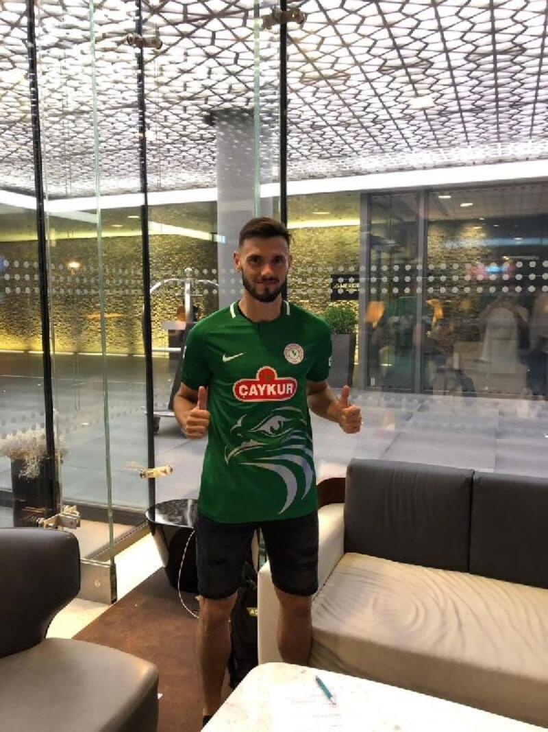 Çaykur Rizespor, Amedej Vetrih'i transfer etti