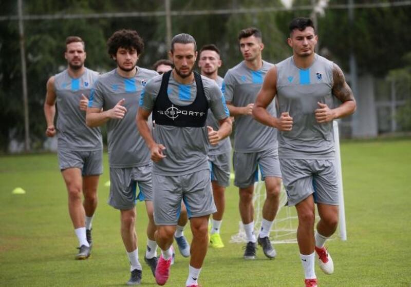 Trabzonspor'da 7 oyuncuya özel antrenman