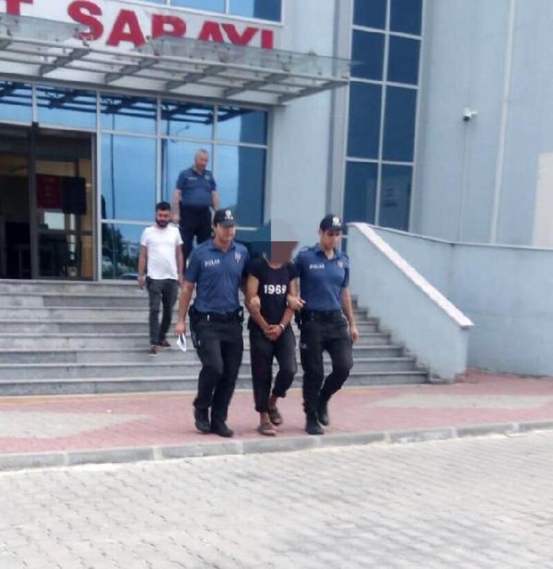 Parmak izinden yakalanan televizyon hırsızı tutuklandı