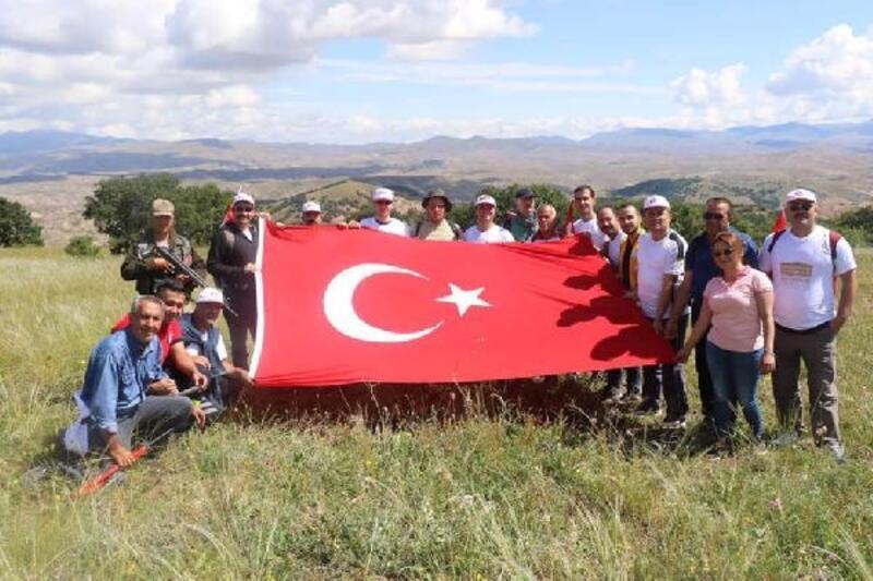 İmranlı'da 'Milli Bağımsızlık Yürüyüşü' düzenlendi