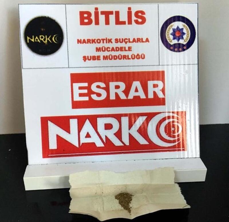 Bitlis'te 'torbacı' operasyonuna 10 tutuklama