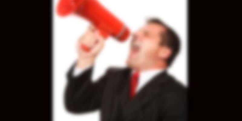 """Siyasilere uyarı: """"Bağırmadan konuşun"""""""