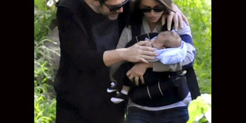 İşte Penelope ve Javier'in küçük Leo'su