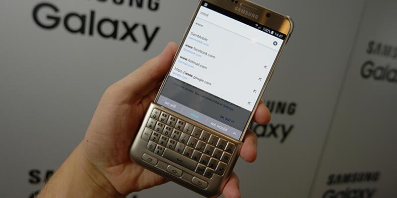 Galaxy S7 için ilginç bir kılıf