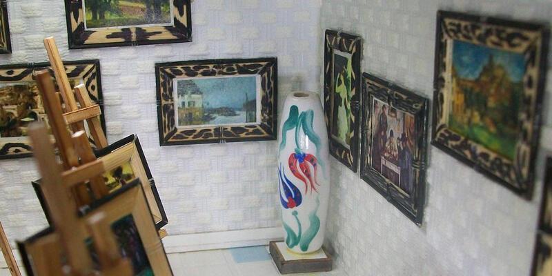 Ünlü ressamların eserleri Minyatür Sanat Sergisi'nde