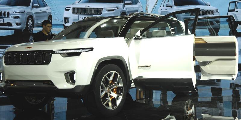 Jeep hibrit SUV hazırlıyor