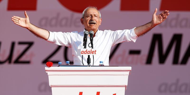 Kemal Kılıçdaroğlu 'Adalet Mitingi'nde konuştu, 10 maddelik çağrı yaptı