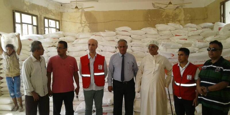 Yemen'deki Türk köyüne Kızılay'dan yardım
