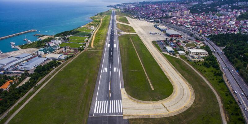 Bakanlık açıkladı: Trabzon Havalimanı'nda onarım başlatıldı