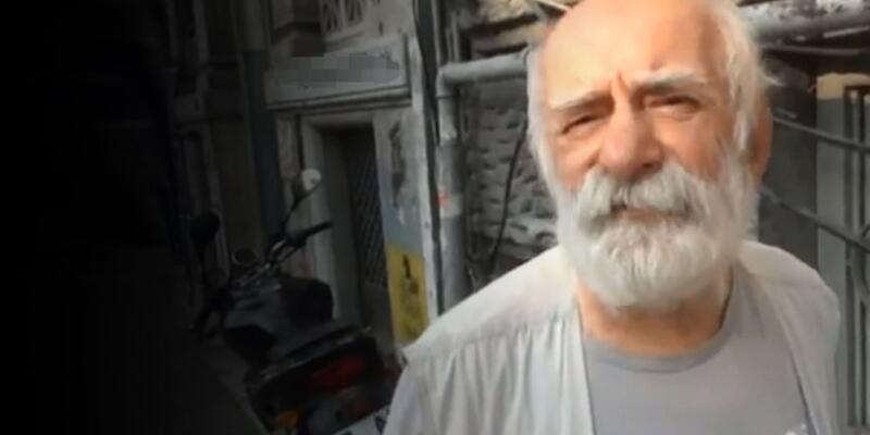 Felç geçiren oyuncu Hikmet Karagöz görüntülendi
