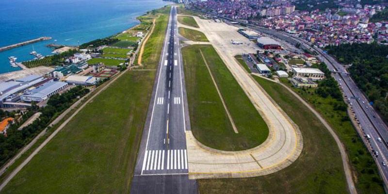 Yer: Trabzon... Pilotun telefonuna gelen mesaj ortalığı karıştırdı