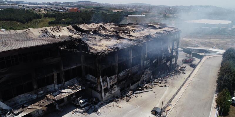 4 işçinin öldüğü yangın sonrası fabrika sahibi gözaltında