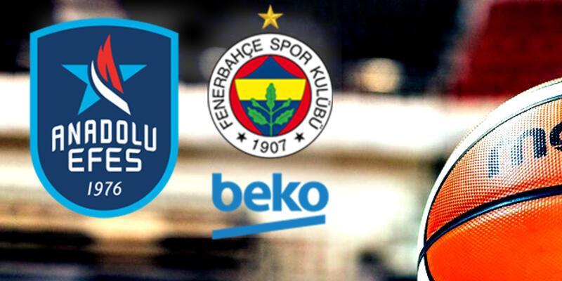 Anadolu Efes Fenerbahçe play off 5. maçı ne zaman, saat kaçta, hangi kanalda?